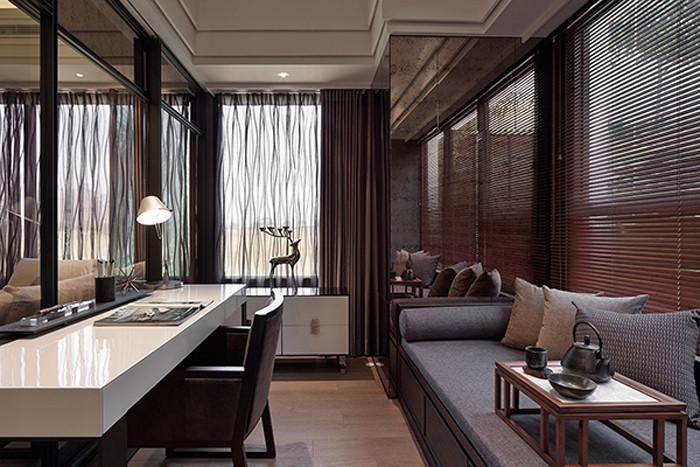 东方禅风 经典中式高端别墅豪宅设计效果图欣赏图片