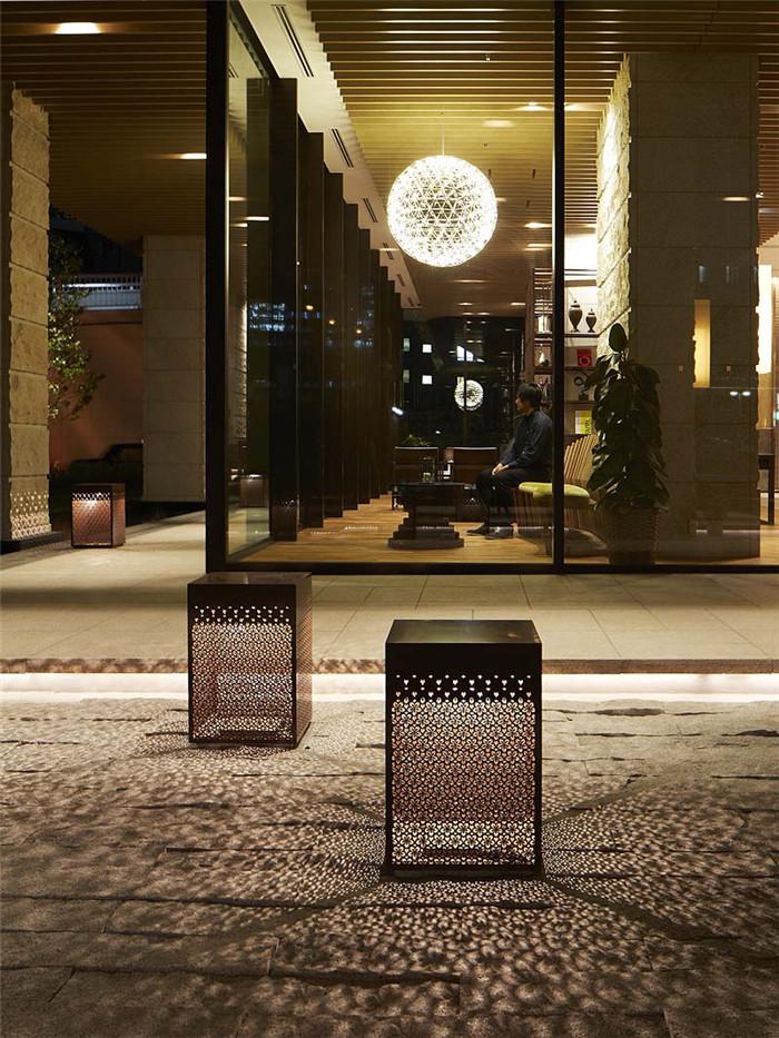 日式风格 大阪三井花园尊贵酒店设计案例欣赏