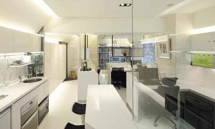现代办公室空间