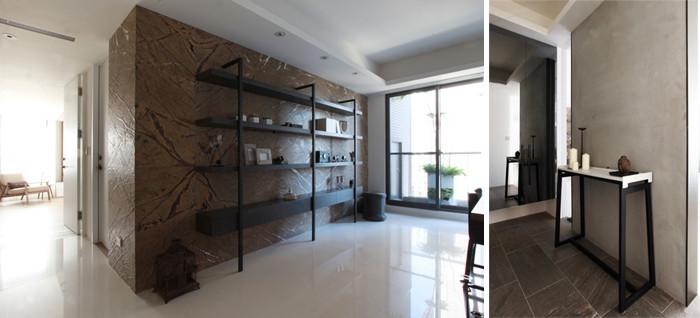 层次哲学别墅室内空间设计效果图