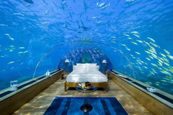 国外神秘的海底旅店设计案例欣赏
