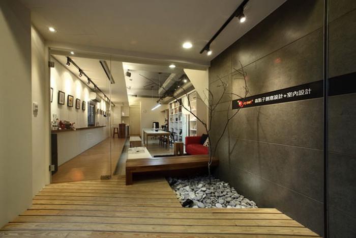 现代创意办公室设计方案欣赏
