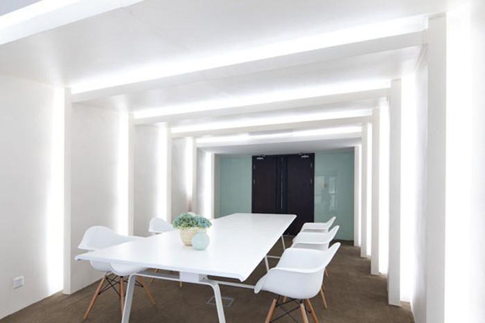 现代与古典相结合的办公室设计效果图欣赏