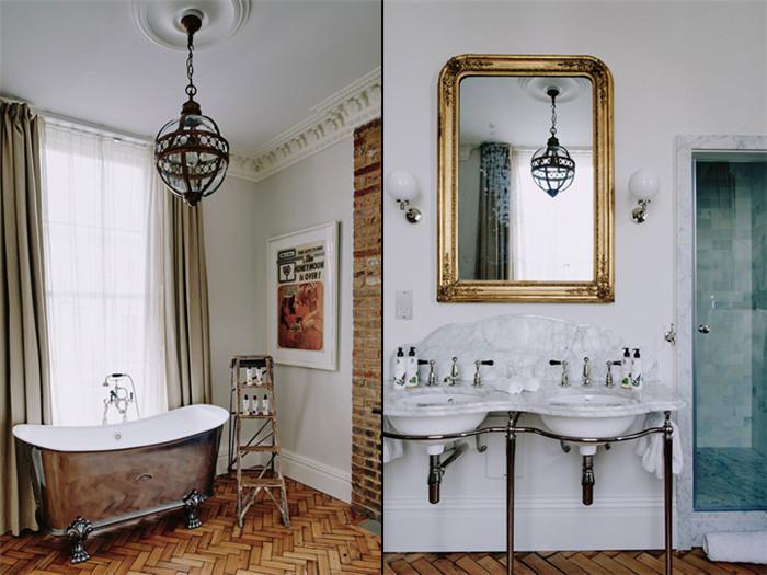 英国伦敦艺术家住宅宾馆设计效果图欣赏