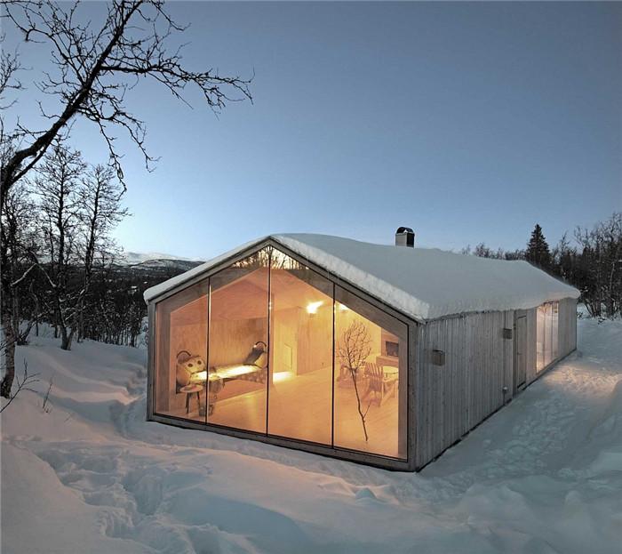 半山腰度假别墅设计案例