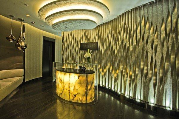 上海丽丝卡尔顿酒店水疗中心设计