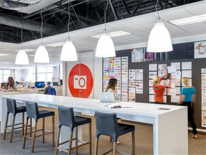 现代特色企业办公室设计欣赏