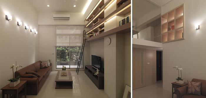 loft复式别墅设计案例