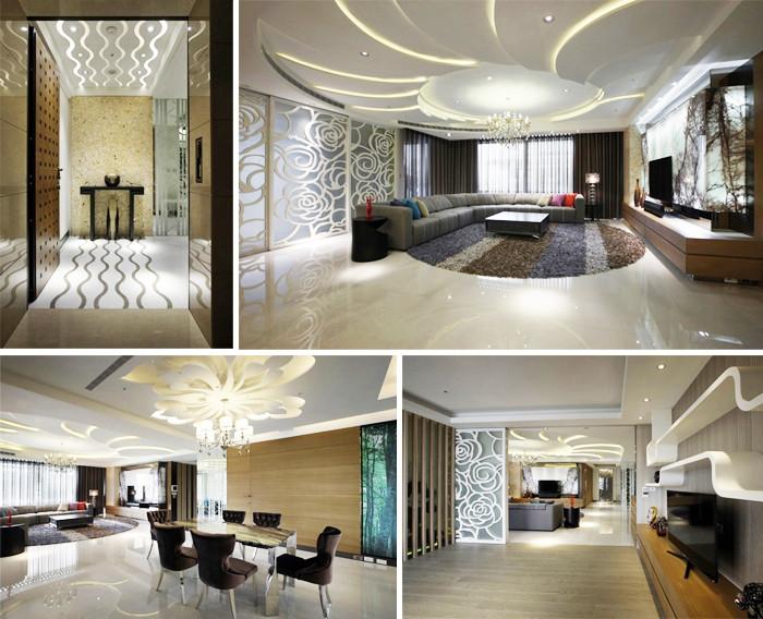 优雅风别墅室内设计方案