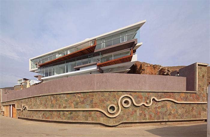 国外顶级海景别墅外观设计