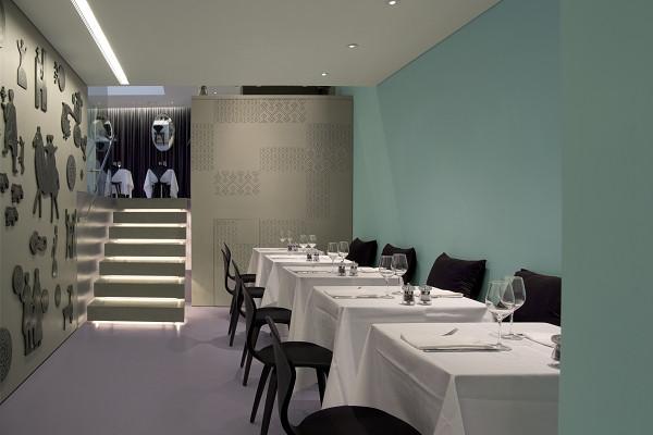 国外特色主题餐厅设计推荐:伦敦olivocarne餐厅