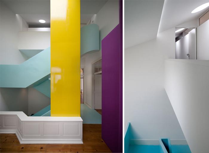 联排别墅楼梯设计方案