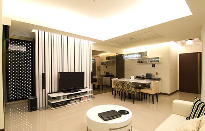 专业别墅设计公司推荐简欧轻奢华风80后婚房设计效果图