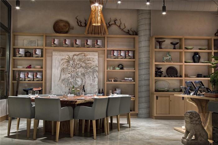 国外特色主题餐厅设计方案 森本纳帕文化艺术餐厅室内