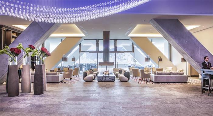 极具创意的达沃斯洲际五星级酒店设计案例欣赏
