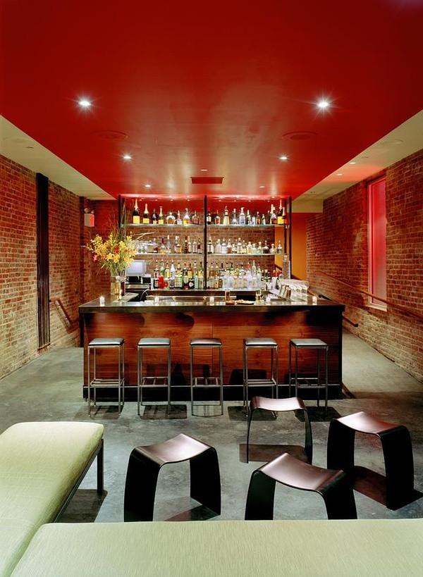 國外工業風格特色餐廳設計案例:suba餐廳設計