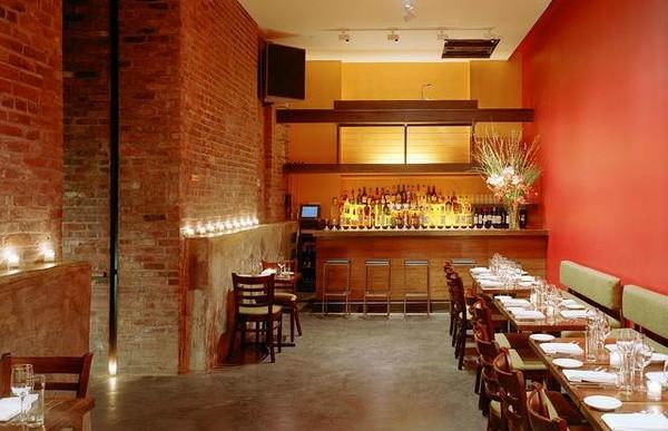 国外工业风格特色餐厅设计案例:suba餐厅设计