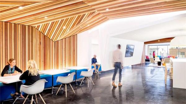 上海勃朗办公室设计公司推荐国外创意办公室设计案例图片