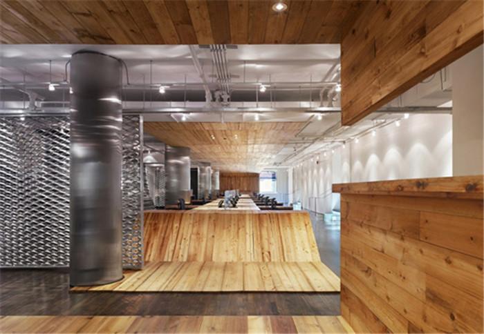 郑州办公室设计公司分享国外创意办公空间扩建设计图片