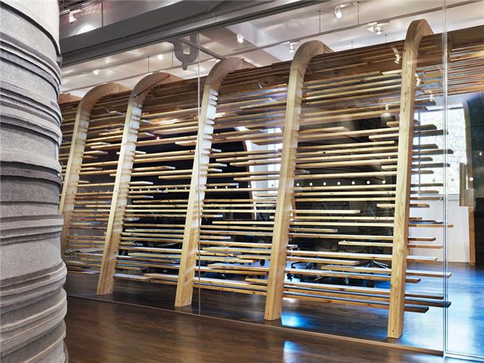 郑州办公室设计公司分享国外创意办公空间扩建设计案例图片