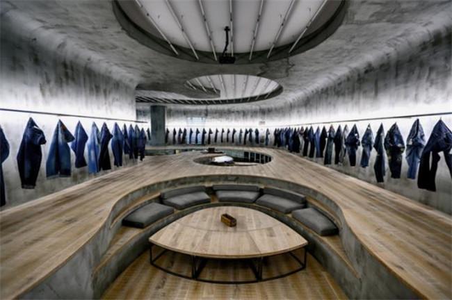 流动曲线 土耳其牛仔研发创意办公室办公室设计说明