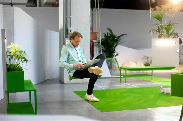 国外富有主题色彩的创意办公室设计案例欣赏图片
