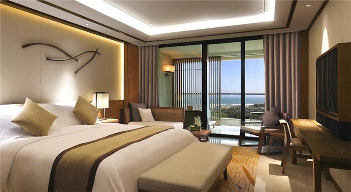 清雅的酒店客房设计