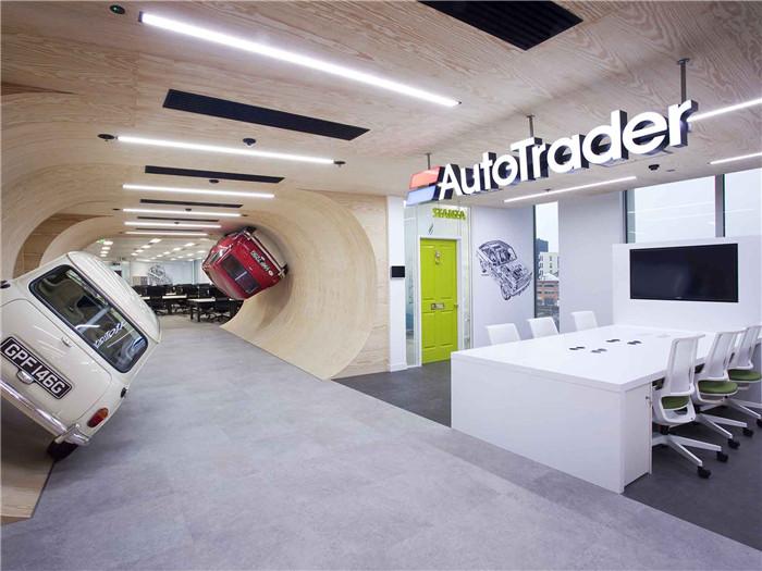 汽車主題辦公室空間設計