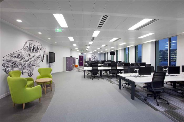 國外汽車公司現代時尚創意辦公室裝修設計案例