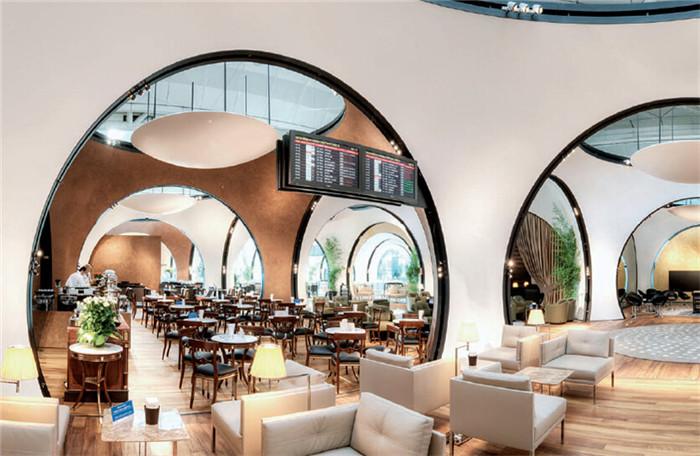 郑州知名会所设计公司分享土耳其航空cip休息室设计