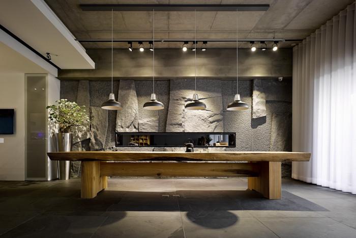 郑州专业别墅设计公司推荐现代东方禅意别墅室内设计