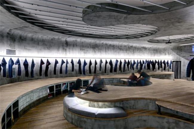 簡約靈活辦公空間 國外創意辦公室設計案例欣賞
