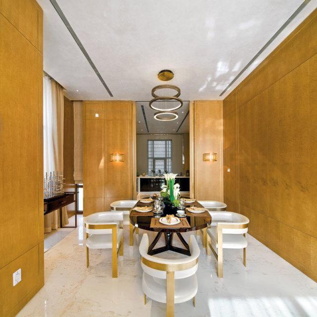 现代混搭英伦风别墅室内设计方案