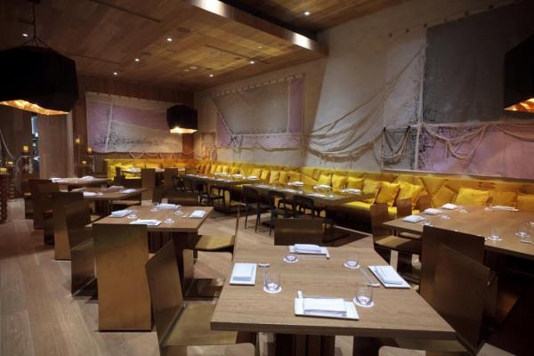 墨西哥城森本餐厅 现代主义艺术主题餐厅设计