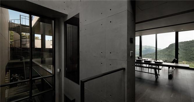 现代工业风格别墅室内设计方案