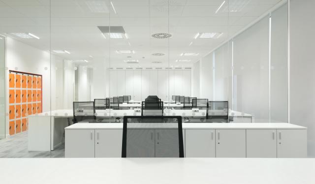 简约办公区设计