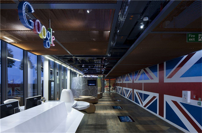 谷歌办公室图集 疯狂的谷歌创意办公室设计实景图