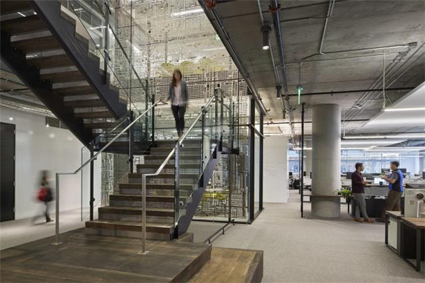 办公室室内楼梯