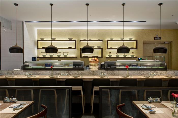 工业风格特色日式餐厅设计推荐:青岛raki萝喜餐厅