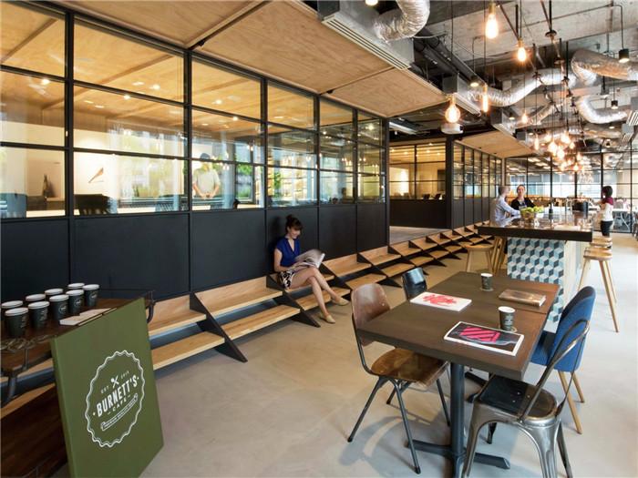 创意广告公司李奥贝纳现代特色办公室设计案例欣赏