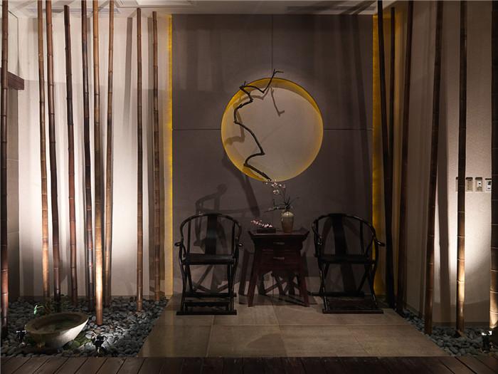 中式禅意spa水疗会所室内设计