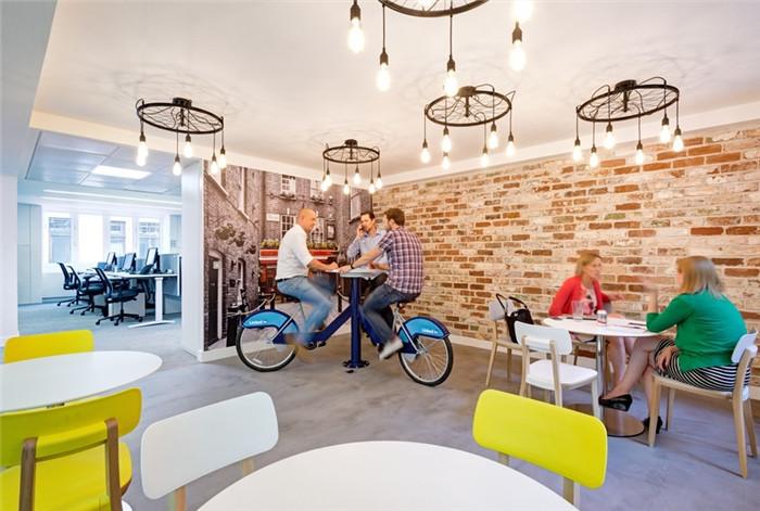 国外创意办公空间休闲区设计