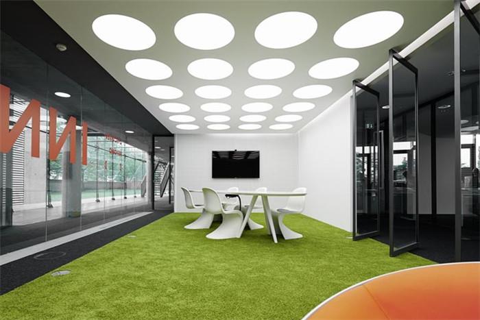 国际广告公司innocean总部时尚创意办公室装修设计案例