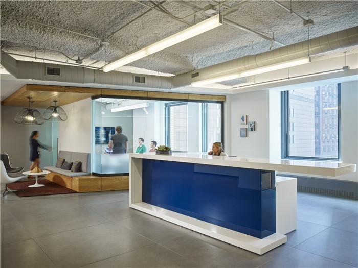 国外办公空间 美国enova公司办公室装修设计实景图