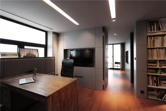 方太极艺术工作室设计 现代简约风办公室设计案例赏析