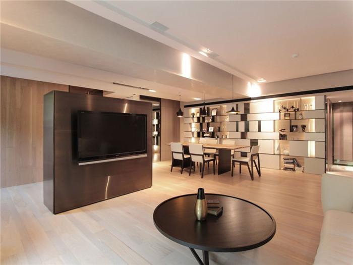 开放式别墅客厅设计