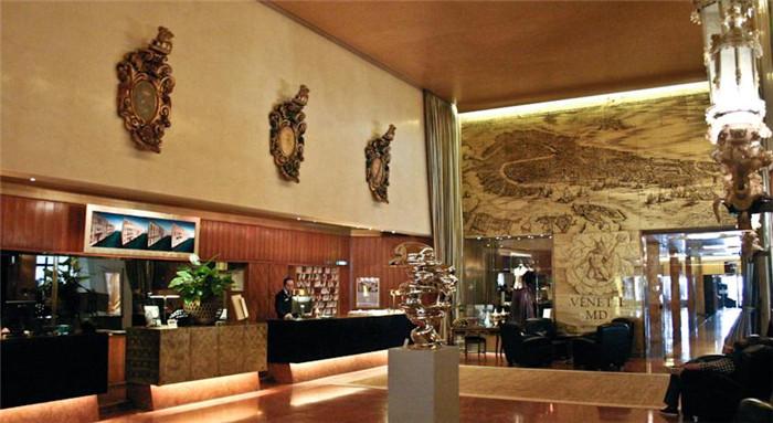 酒店接待大廳設計實景圖