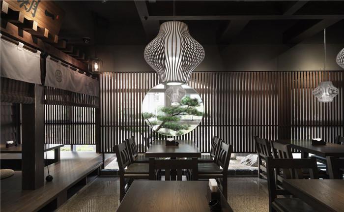 日本江户时代设计风格 初心菓寮日式禅意甜品餐厅设计