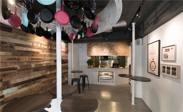 郑州餐厅设计公司推荐台北小而精的餐饮店面设计图