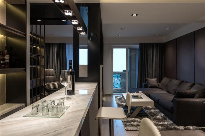 上海勃朗别墅豪宅设计专家分享繁华外滩单身公寓设计案例